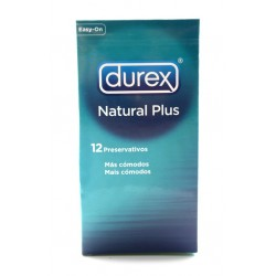 DUREX NATURAL PLUS EXTRALUBRICADO 12 UDS