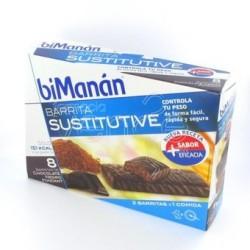 BIMANAN BARRITAS CHOCOLATE NEGRO FONDANT 8 UDS
