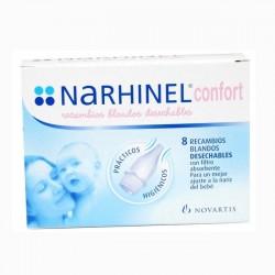 RECAMBIO NARHINEL CONFORT DESECHA 8 UDS