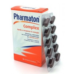 PHARMATON COMPLEX 30 CAPS BLANDAS