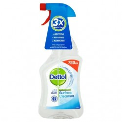 DETTOL SPRAY ANTI VIRUS, BACTERIAS, HONGO