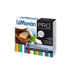 BIMANAN PRO BARRITAS CHOCOLATE COCO 6 UI