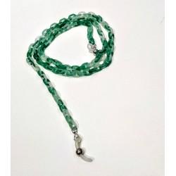 Cadena verde Farmamoda pequeña para colgar las gafas