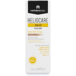 Heliocare 360º bronze intense spf 50 gel oil-free