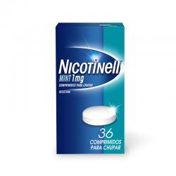 Nicotinell 1 MG Comp para Chupar Mint