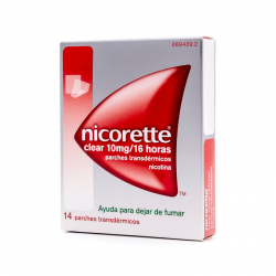 Nicorette 10 mg 7 parches
