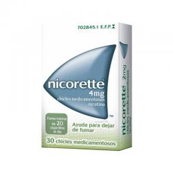 Nicorette 4 mg classic 30 chicles