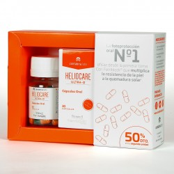 Ultra-D cápsulas orales Heliocare Pack 50% 2ª Unidad