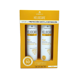 Duplo Heliocare 360º Airgel 2x200ml SPF50+