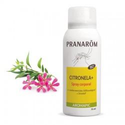 Spray cuerpo Citronela Pranarom Bio 75 ml