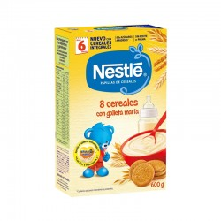 NESTLE 8 CERE GALLETA 600 GR