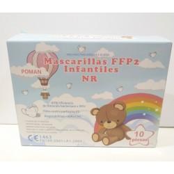 Mascarilla infantil ffp2 1 unidad