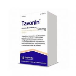 Tavonín 120 mg 15 comprimidos