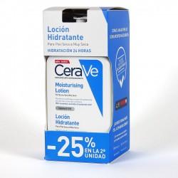 Pack Cerave loción hidratante 25% dto 2ª unidad 473ml