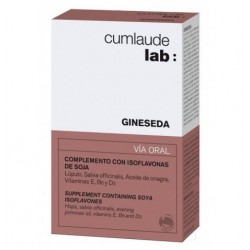 GINESEDA ISOFLAVONA DE SOJA CAPS