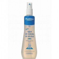AGUA COLONIA MUSTELA S ALCOHOL 200 ML