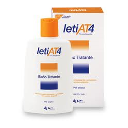 GEL LETI AT 4 BAÑO TRAT 200 ML