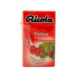 RICOLA PERLAS FRESA S/A 25 GR